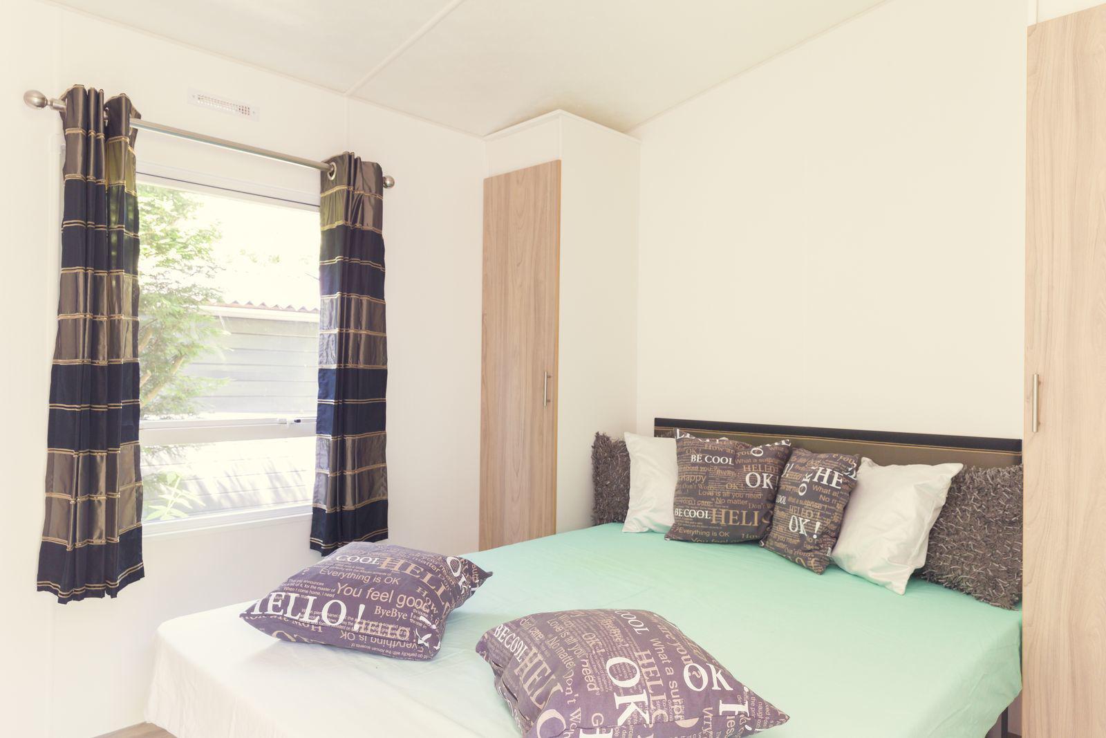 Vakantiepark Mölke bungalette met veranda 5 personen Zuna Overijssel