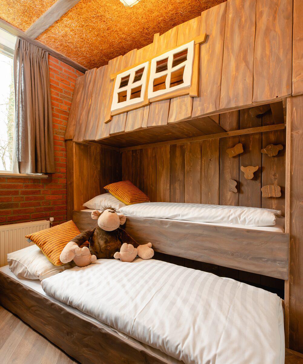 Vakantiepark Mölke 8-persoons kinderbungalow Zuna Overijssel