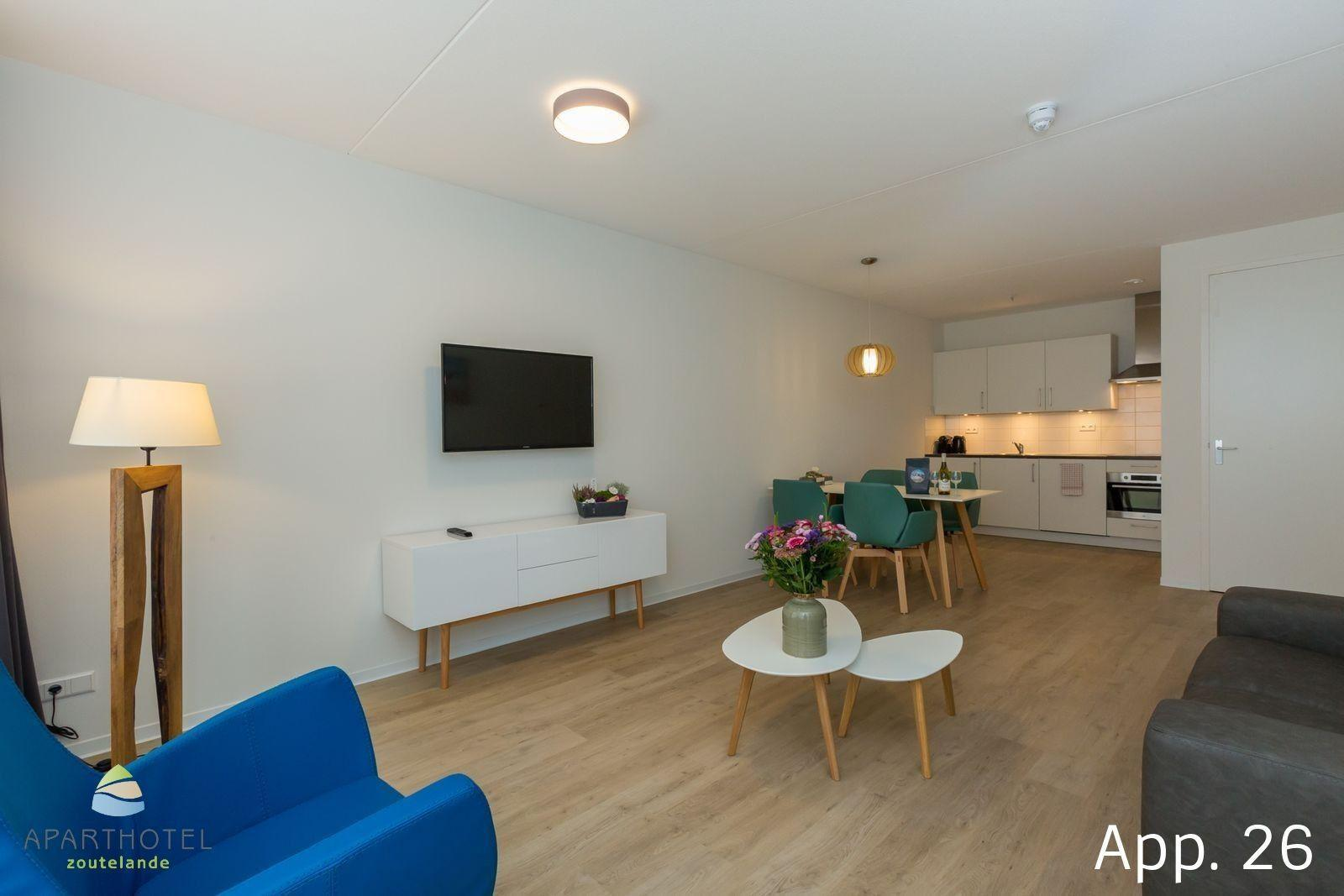 Luxe 4-persoons appartement | Zoutelande