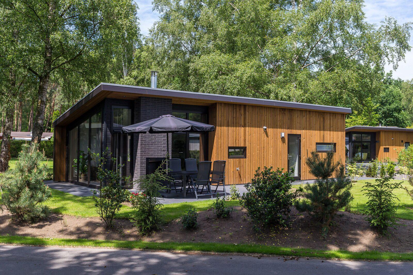 Bos Lodge 55 Eco 4 personen