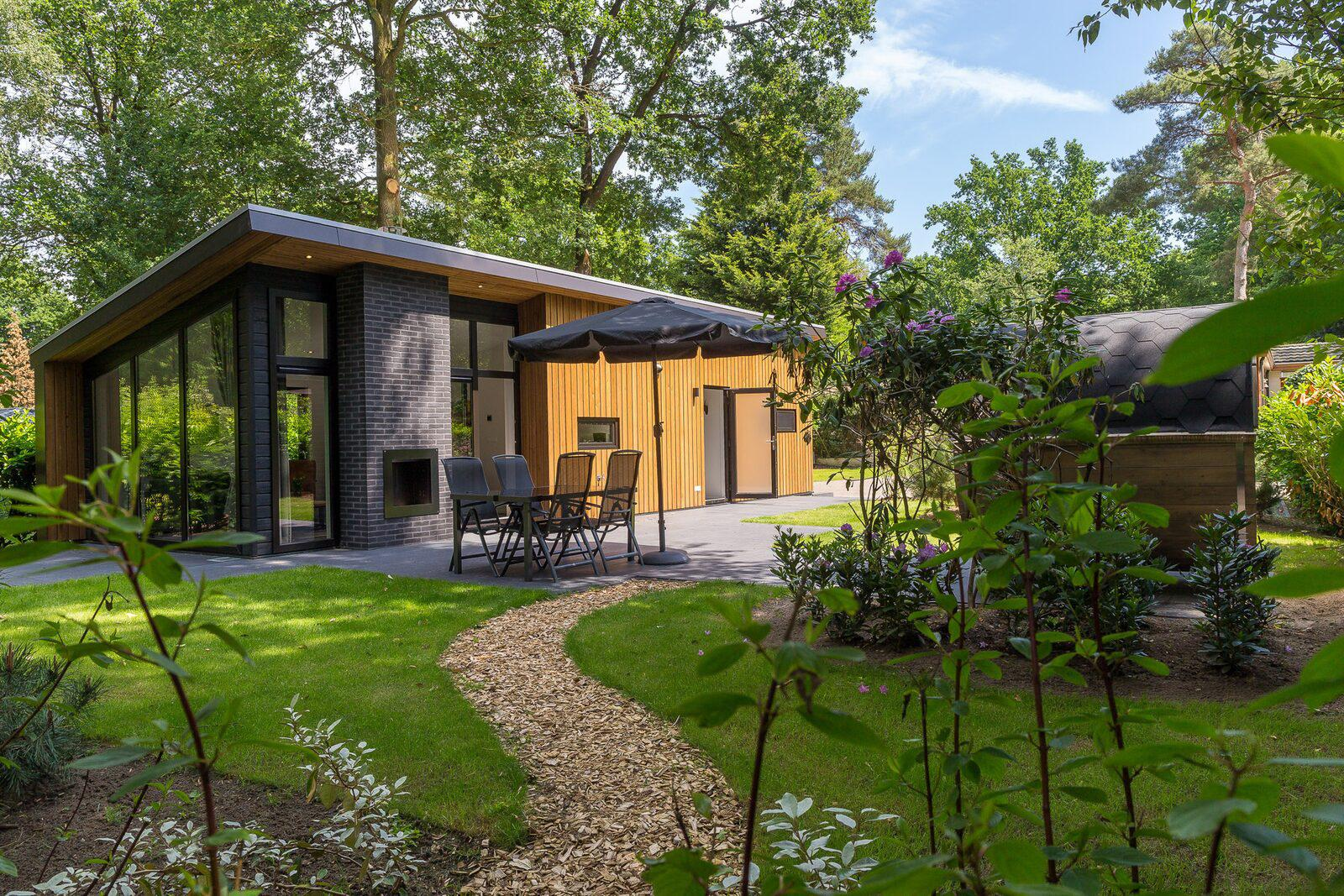 Bos Lodge 55 Eco 4 personen Sauna