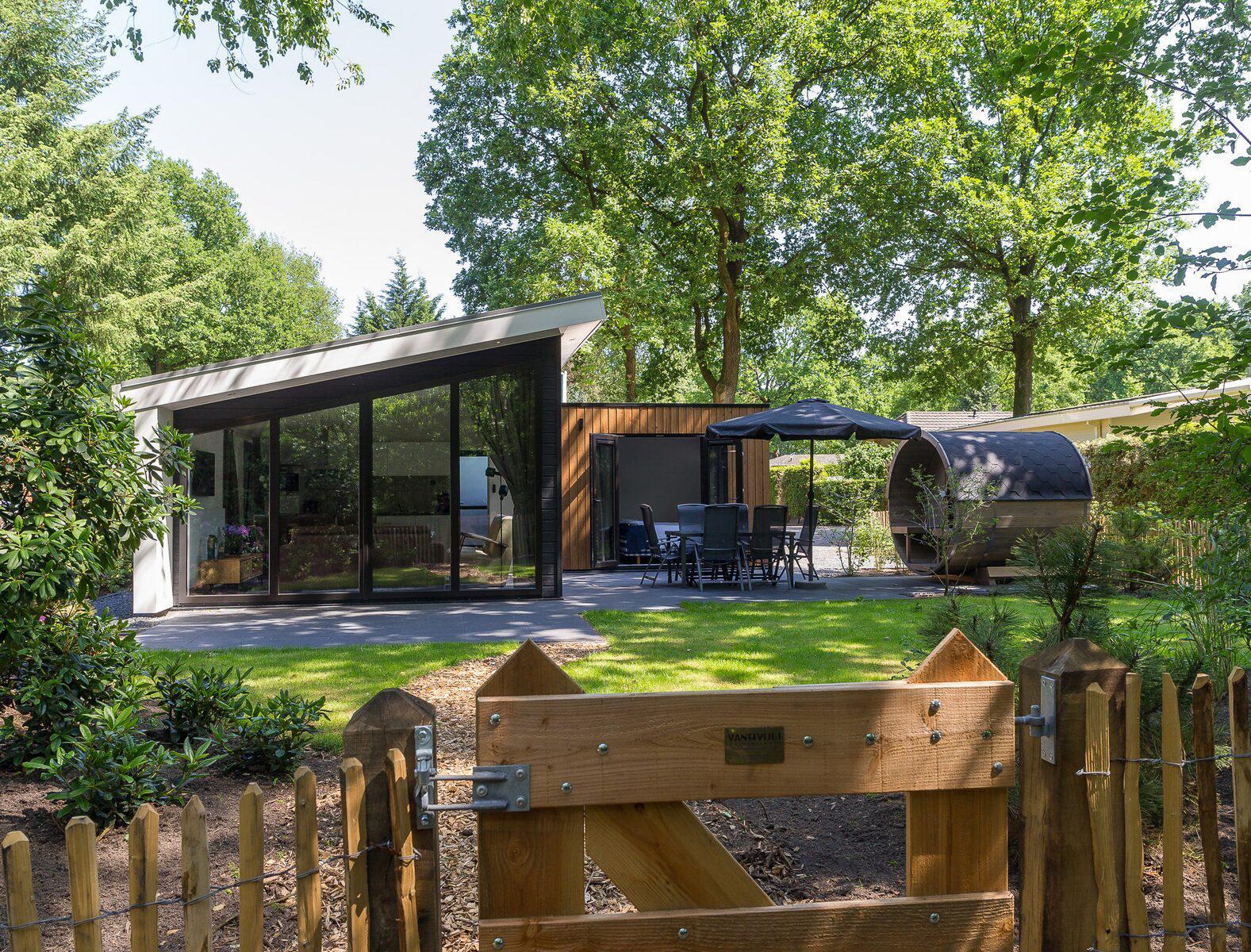 Bos Lodge 75 Eco 6 personen Sauna