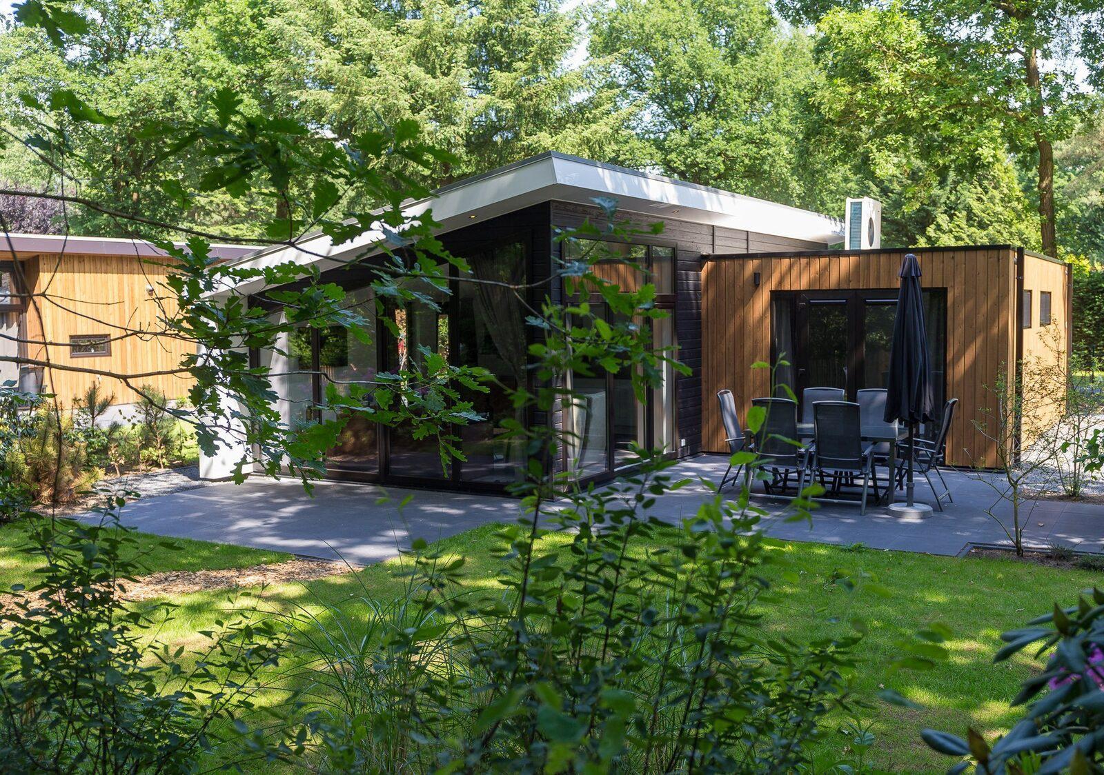 Bos Lodge 75 Eco 6 personen Wellness