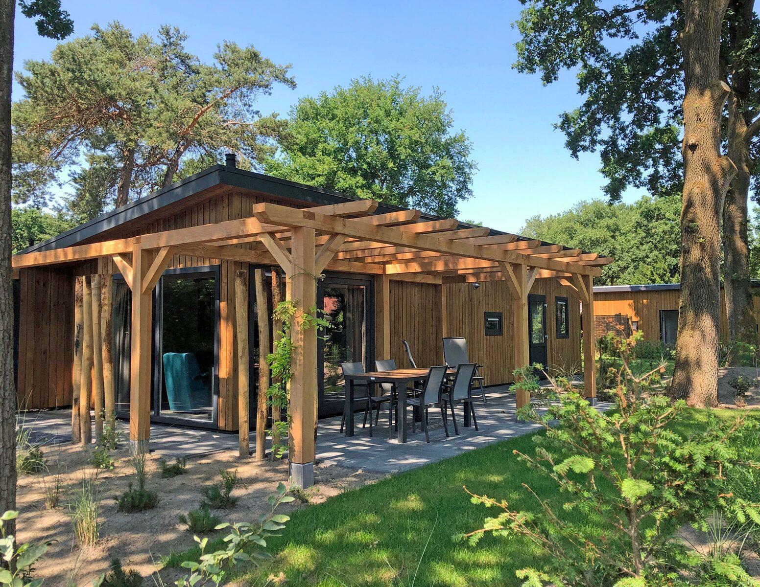 Wood Lodge Eco 6 personen Sauna