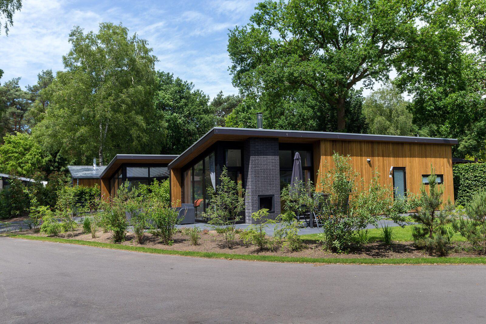 Bos Lodge 55 Eco 4 personen Hottub