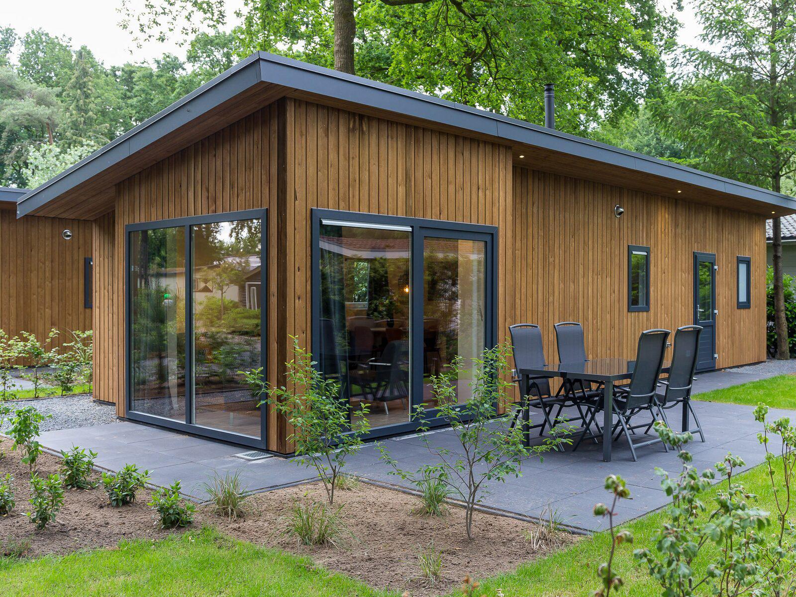 Wood Lodge Eco 4 personen Wellness