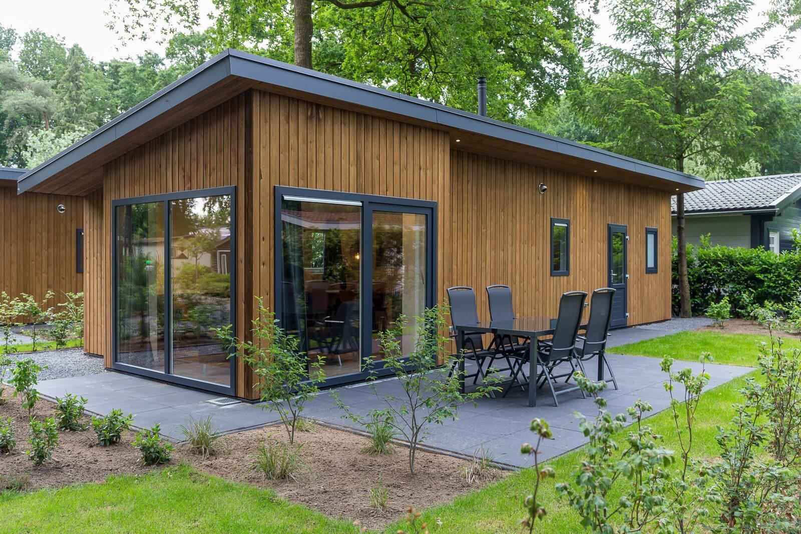 Wood Lodge Eco 6 personen Wellness