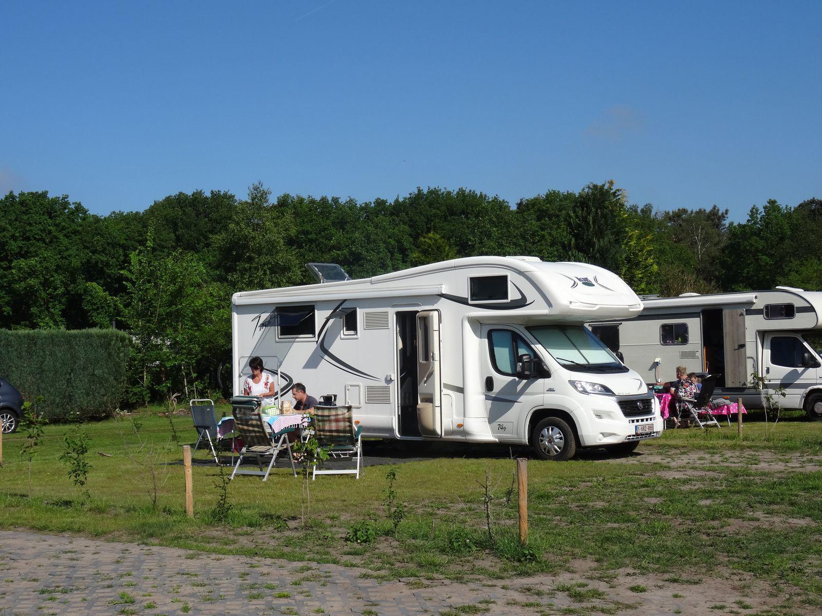 Duinhoeve Camperplaats Udenhout Noord-Brabant