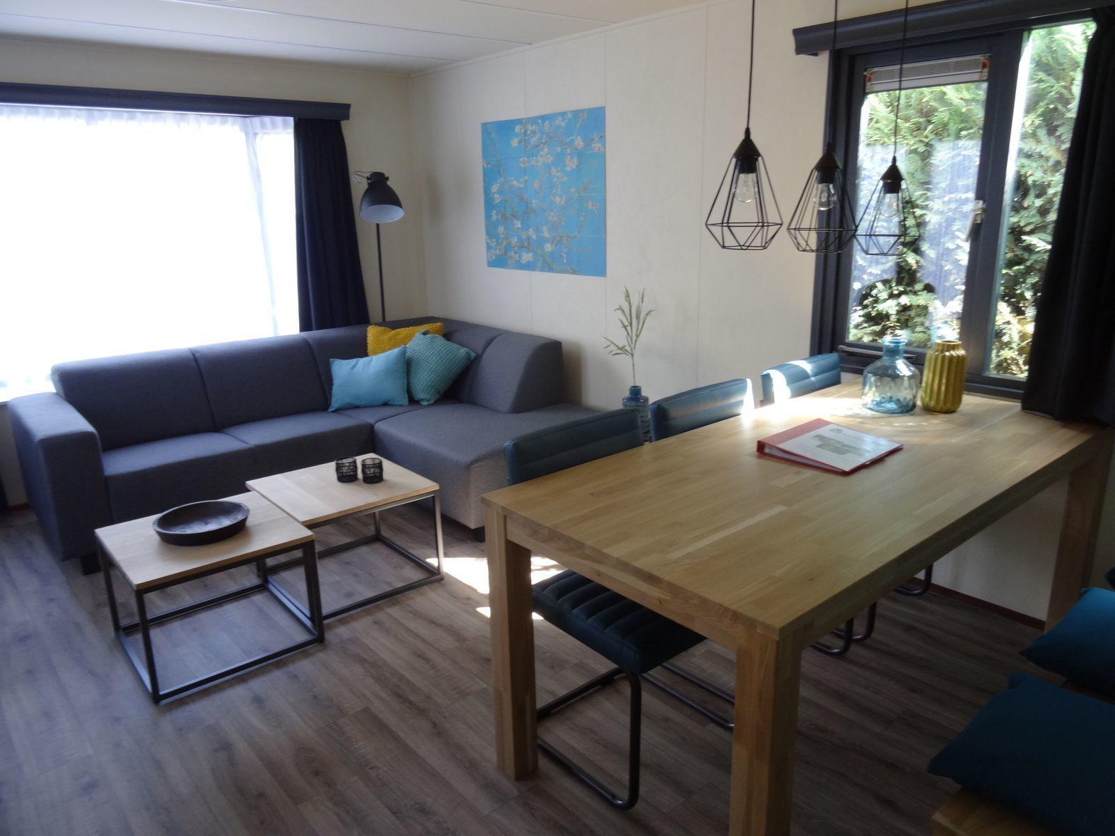 Veranda Chalet voor 6-personen in Noord-Brabant | Recreatiepark Duinhoeve