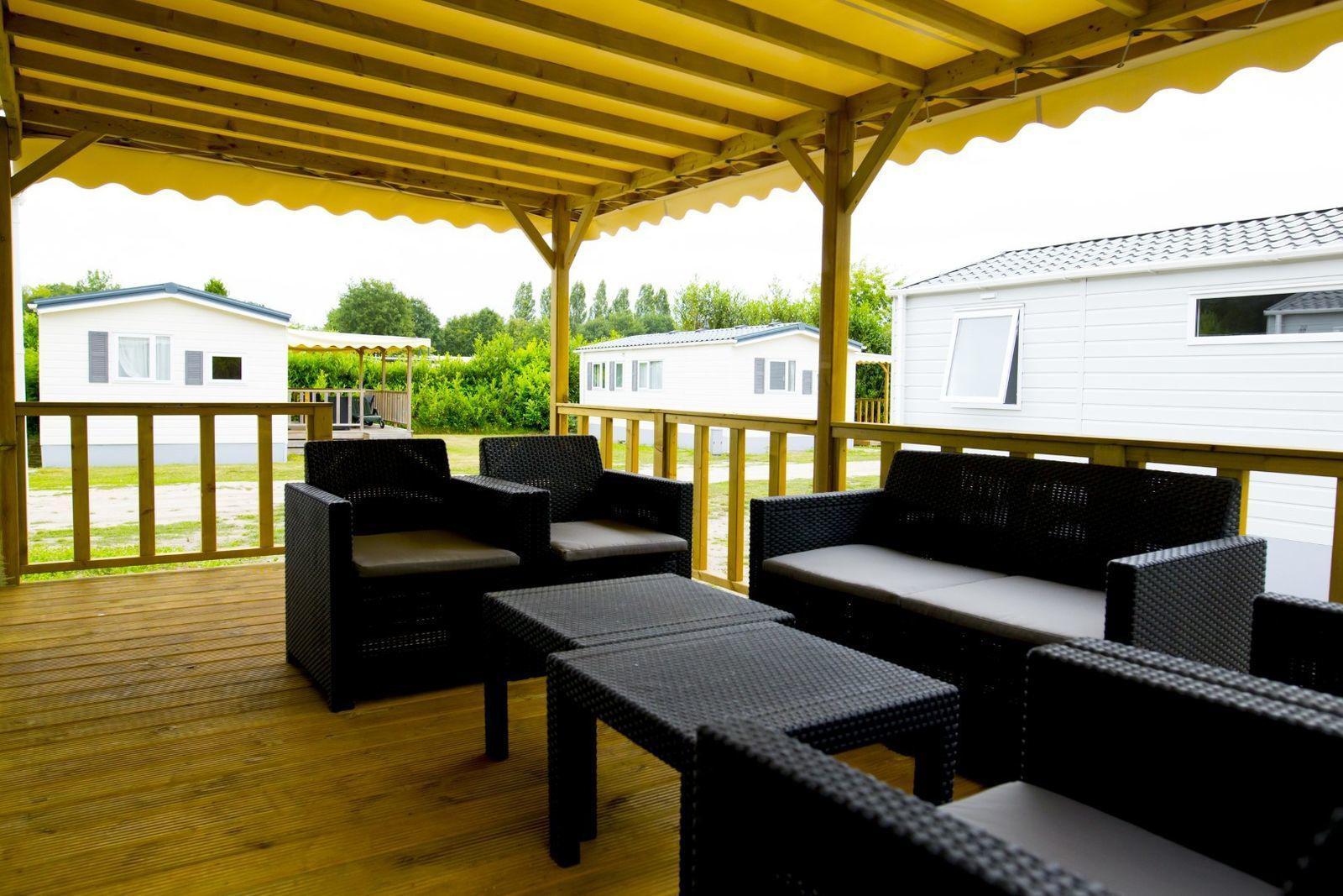 Heide Logde voor 6-personen in Noord-Brabant | Recreatiepark Duinhoeve