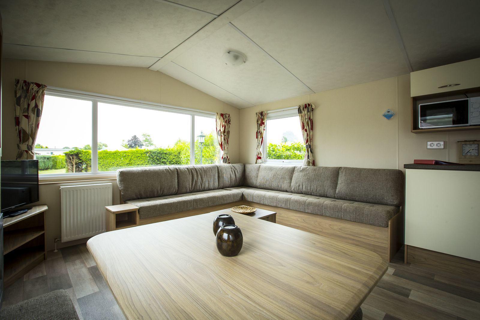 Vlinder Lodge voor 6-personen in Noord-Brabant | Recreatiepark Duinhoeve