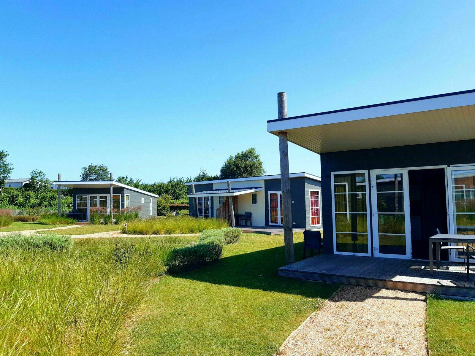 Kompas Camping Nieuwpoort Kampeerplaats Comfort Lodge 2 personen