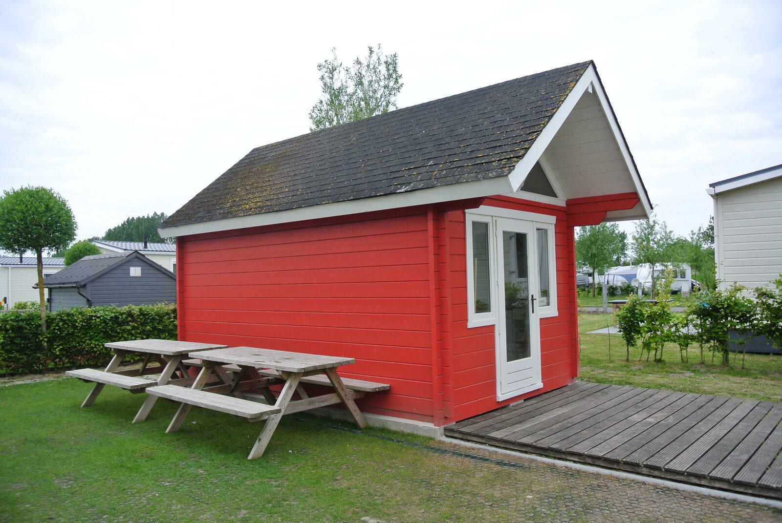 Kompas Camping Nieuwpoort Kampeerhut 4 personen