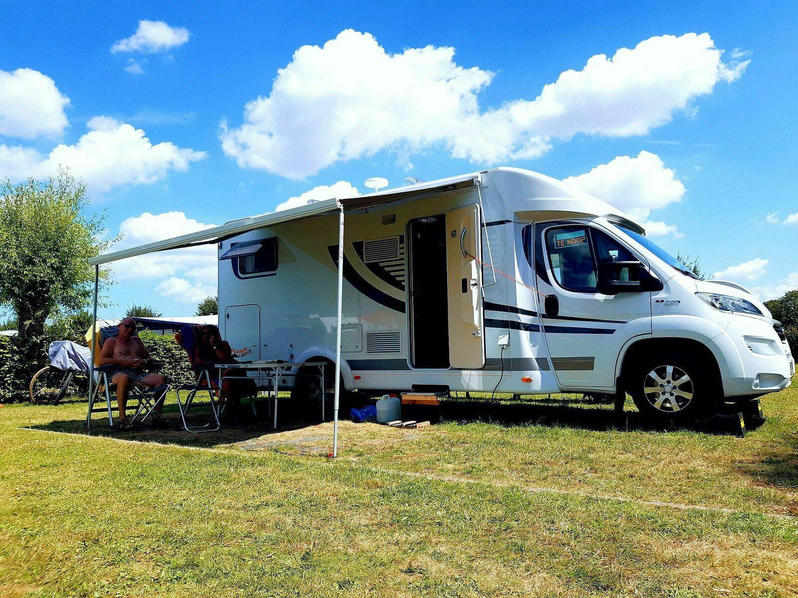 Kompas Camping Nieuwpoort Ruime camperplaats