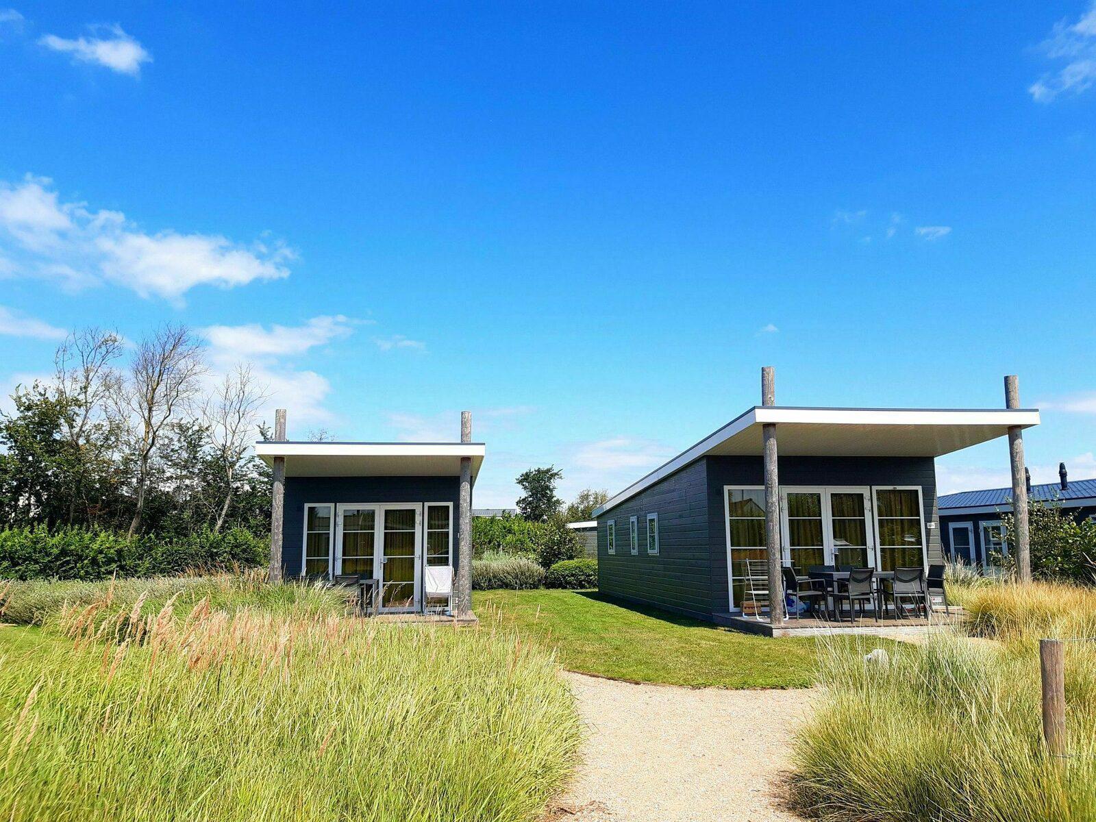 Comfort Lodge voor 4-personen in West-Vlaanderen | Kompas Camping Westende