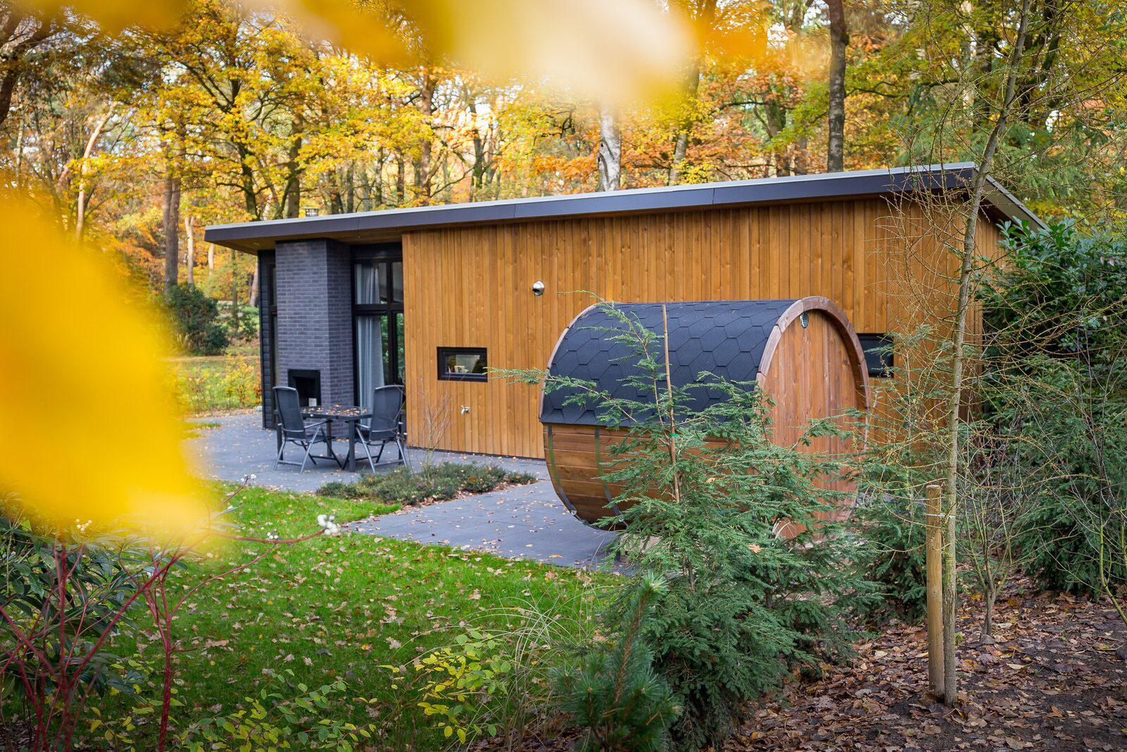 Berkenrhode Bos Lodge 55 Eco 4 personen ( Sauna ) Wekerom