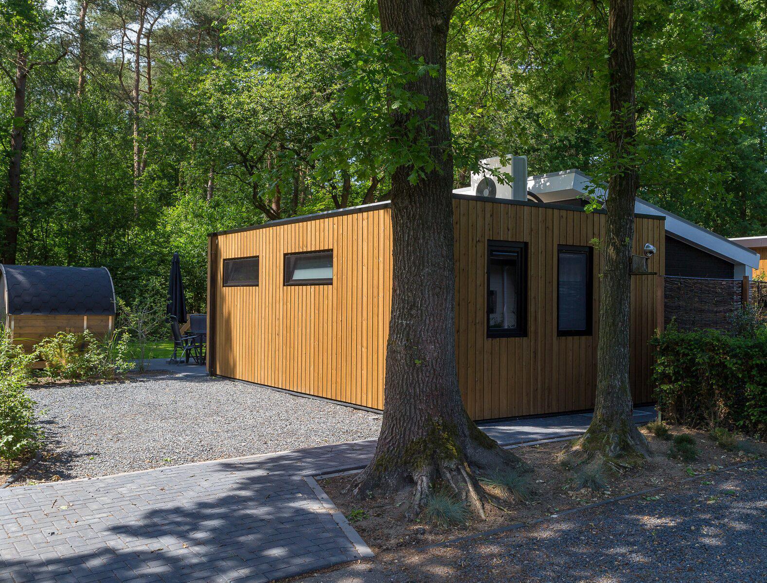 Berkenrhode Bos Lodge 75 Eco 6 personen ( Sauna ) Wekerom