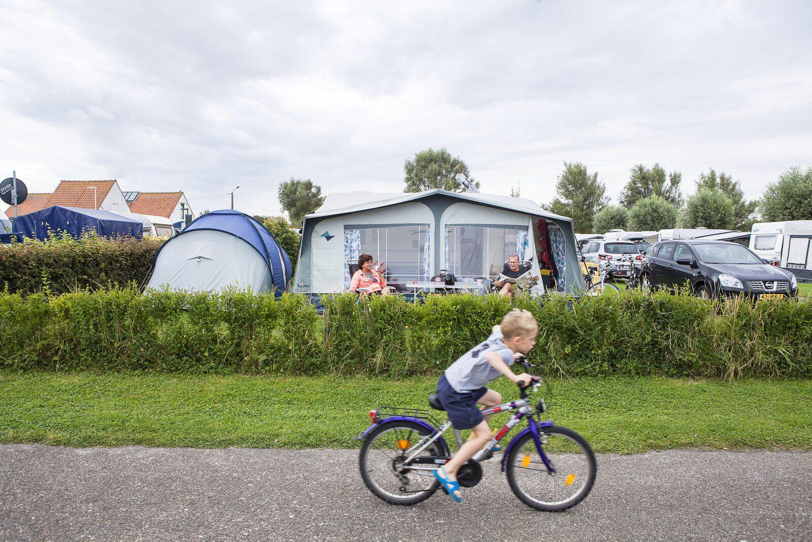 Comfortplaats voor 6-personen in West-Vlaanderen | Kompas Camping Westende