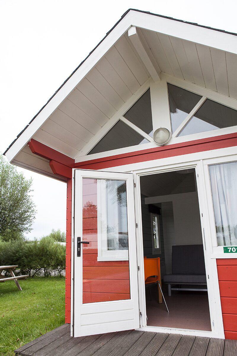 Kampeerhut voor 4-personen in West-Vlaanderen | Kompas Camping Westende