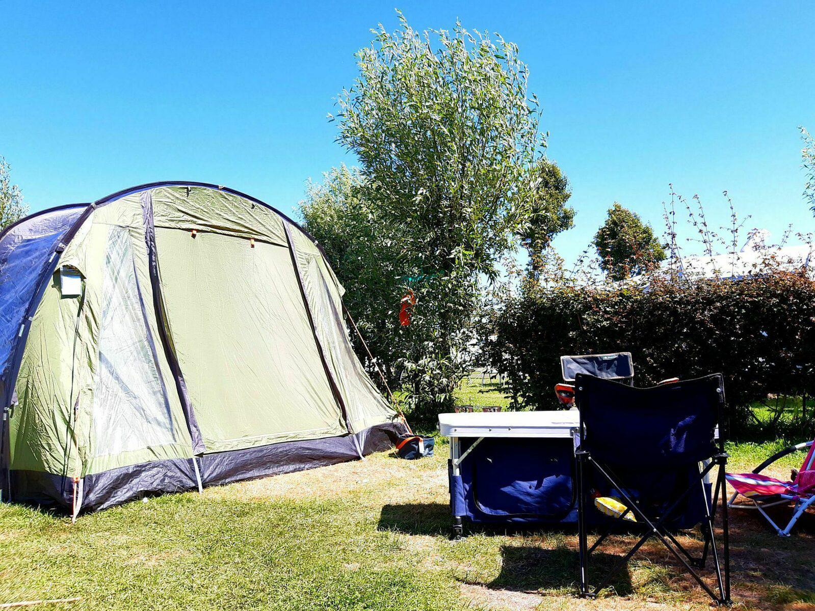 Tentenweide voor 6-personen in West-Vlaanderen   Kompas Camping Westende
