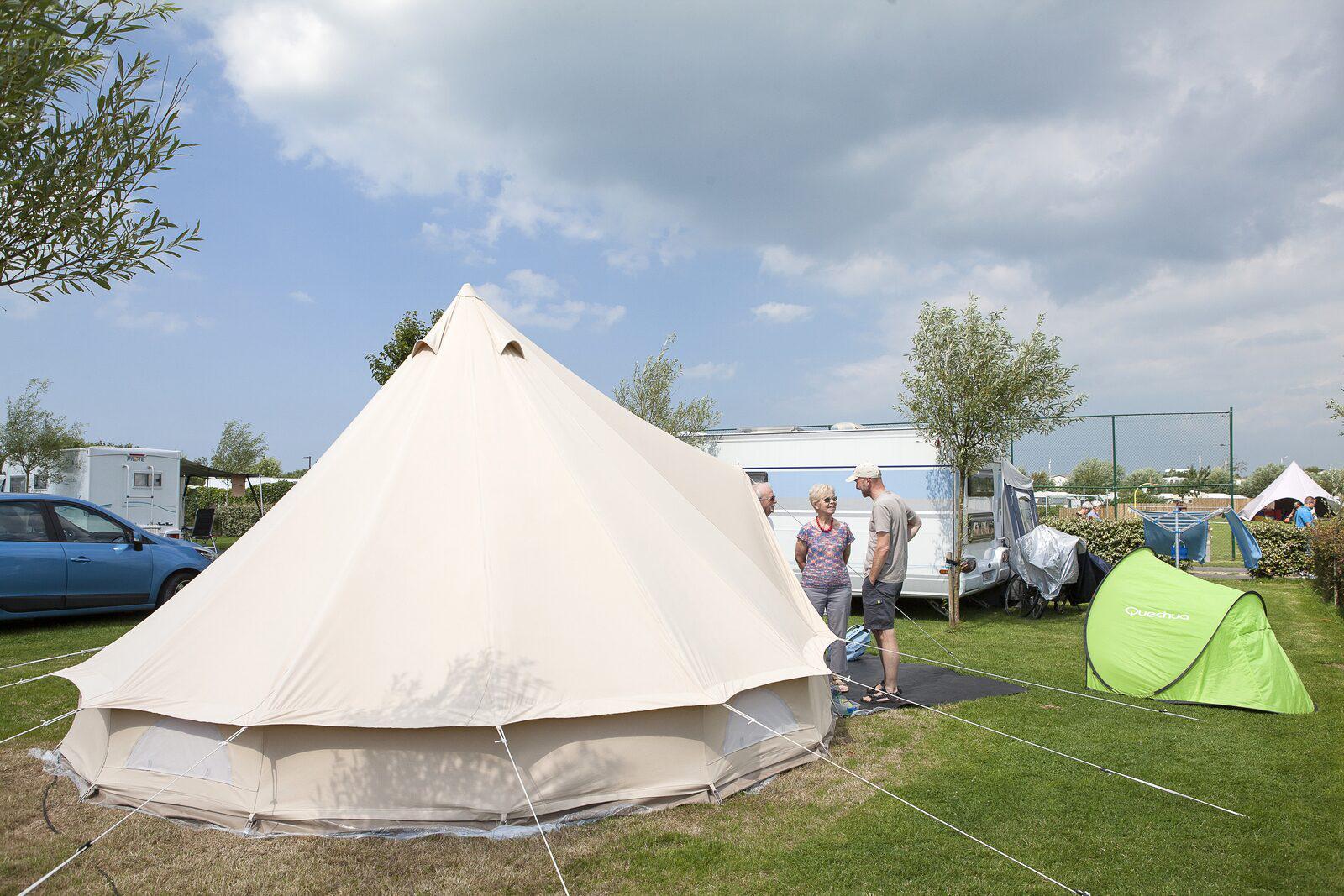 XL-Comfortplaats voor 6-personen in West-Vlaanderen | Kompas Camping Westende