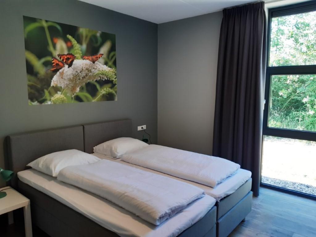 Slaapkamer 2 - groepsaccommodatie Vliersche Veld in Neede (Achterhoek, Gelderland)