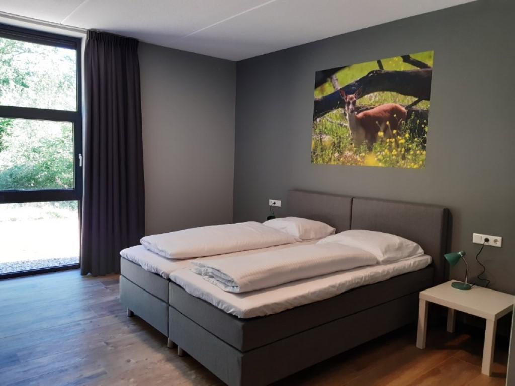 Slaapkamer 3 - groepsaccommodatie Vliersche Veld in Neede (Achterhoek, Gelderland)