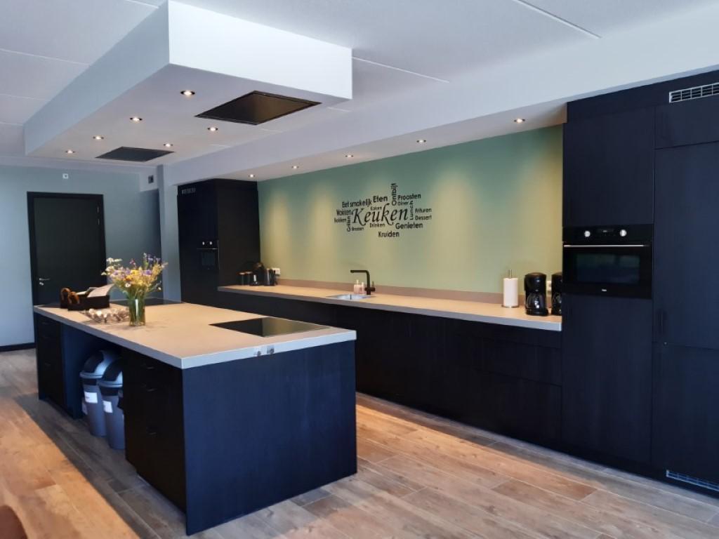 Keuken  - groepsaccommodatie Vliersche Veld in Neede (Achterhoek, Gelderland)