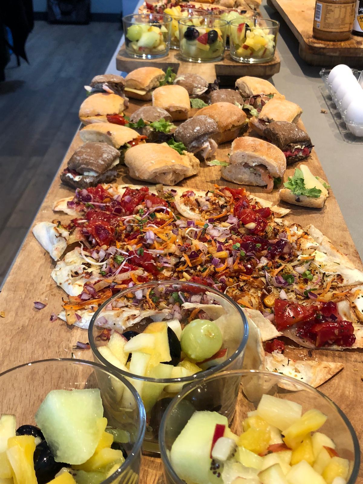 ontbijt en lunch - groepsaccommodatie Vliersche Veld in Neede (Achterhoek, Gelderland)