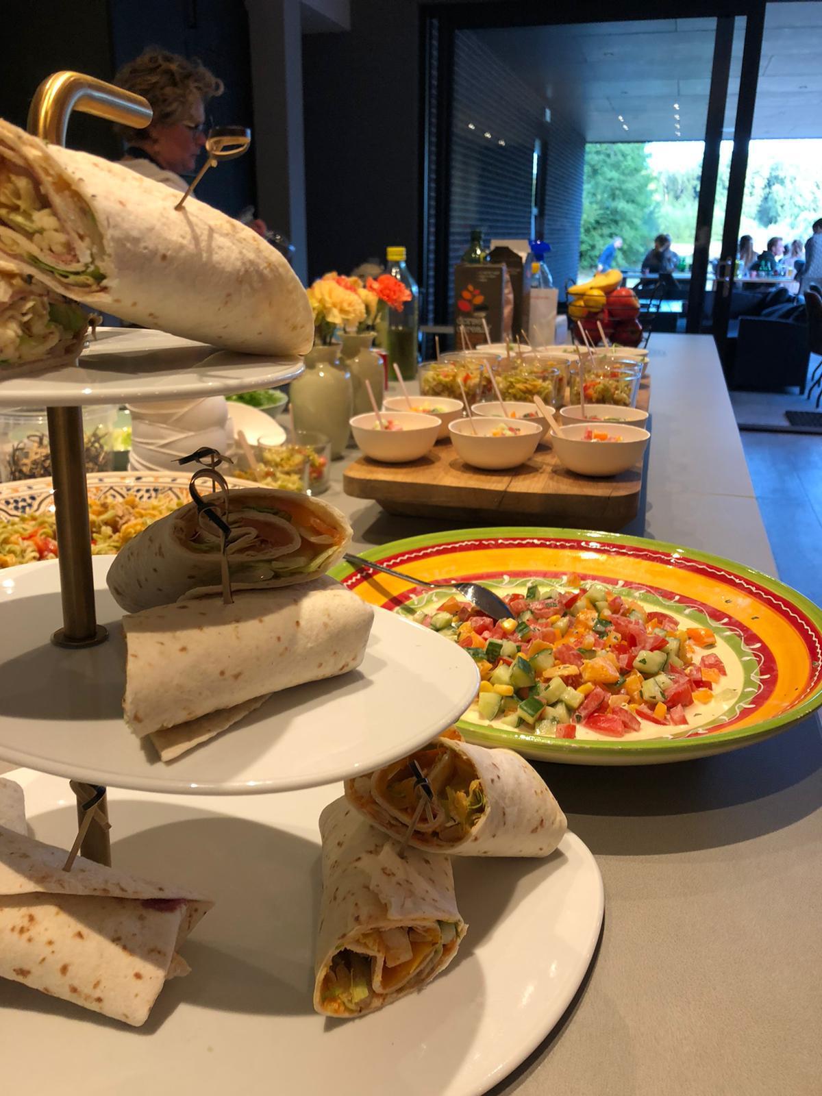 Catering - groepsaccommodatie Vliersche Veld in Neede (Achterhoek, Gelderland)