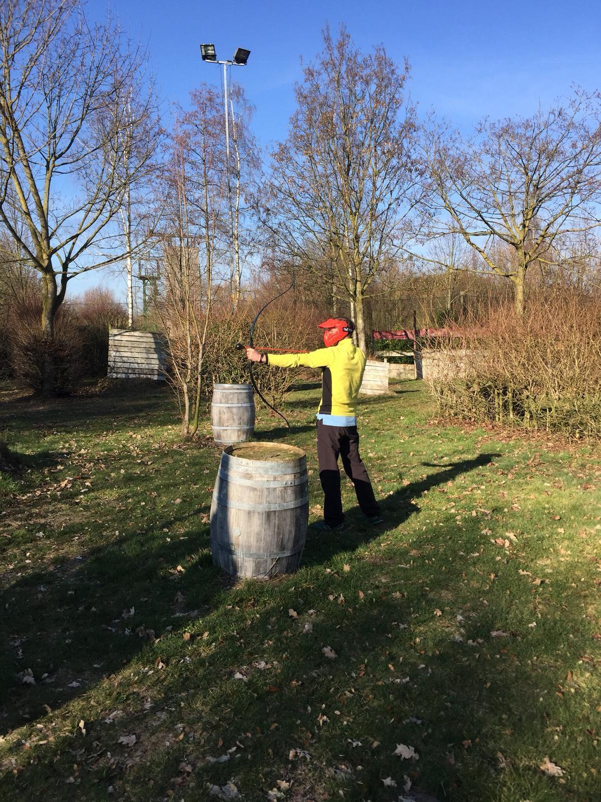 Archery Tag bij Landgoed de Biestheuvel