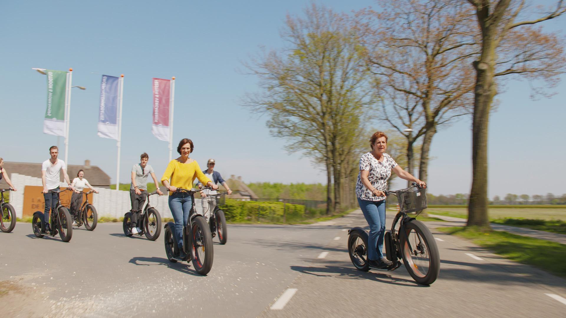 Kickbike Fat Max Elektische Steps bij Landgoed de Biestheuvel