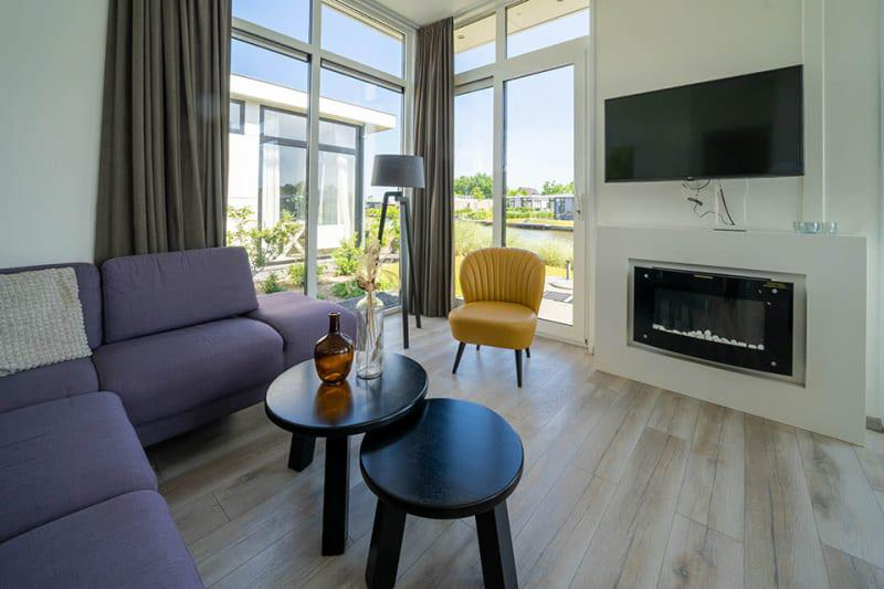 Vakantiehuis EuroParcs Resort Veluwemeer | Pavilion Waterfront 6
