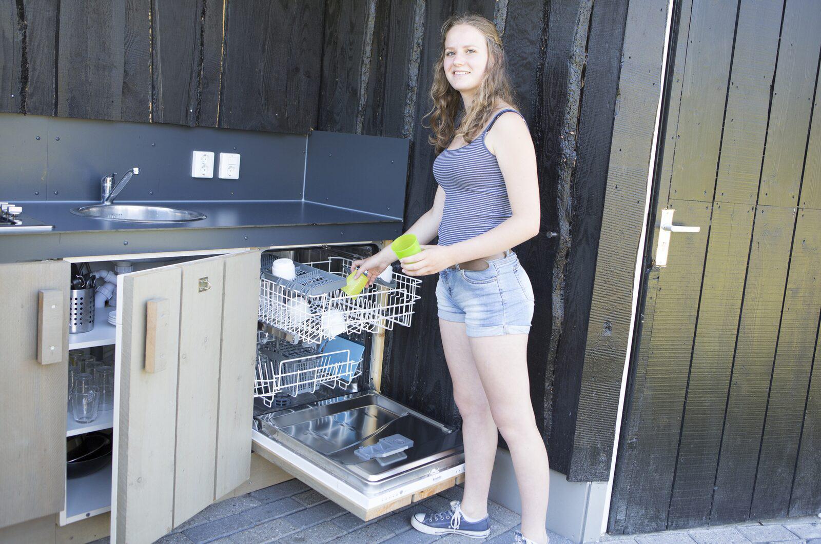 Kampeerplaats met Privé sanitair en buitenkeuken | Norgerberg