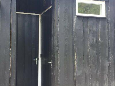 Kampeerplaats met Privé sanitair achter de plaats | Norgerberg